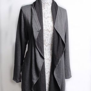 Jackets & Blazers - Unknown Brand! Womens Cotton blend Jacket Draped